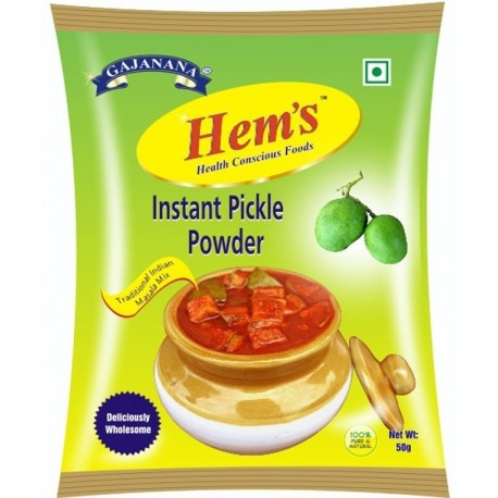 Hem's Instant Pickle Powder(50g Six Packets)