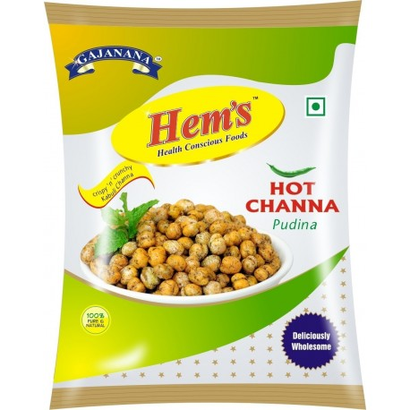 Hem's Hot Channa Pudina, 250g