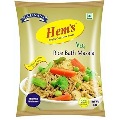 Hem's Veg Rice Bath Masala, 50g